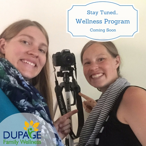Dr. Jamie and Joelle have been busy creating a wellness program