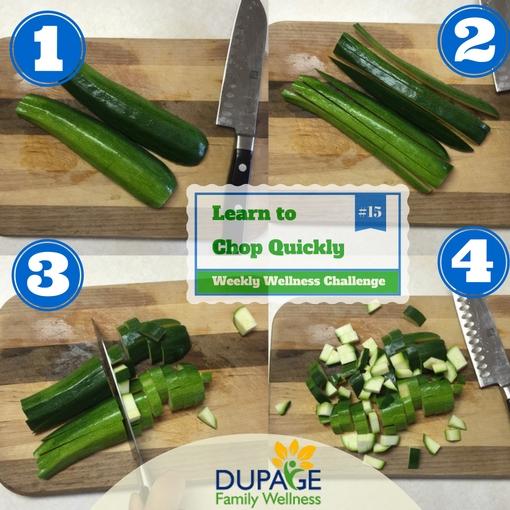 chop quickly