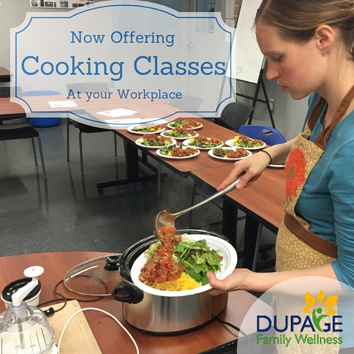 Cooking Classes at Work - Corporate Wellness
