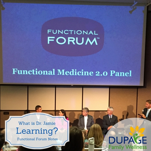 What Did Dr. Jamie Learn and the Functional Forum?