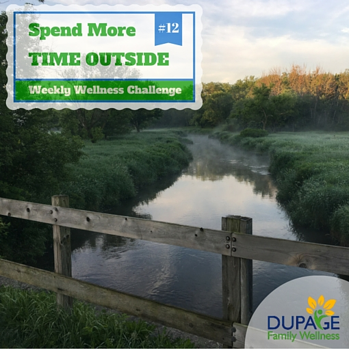 Spend More Time Ourside - Wellness Challenge 12