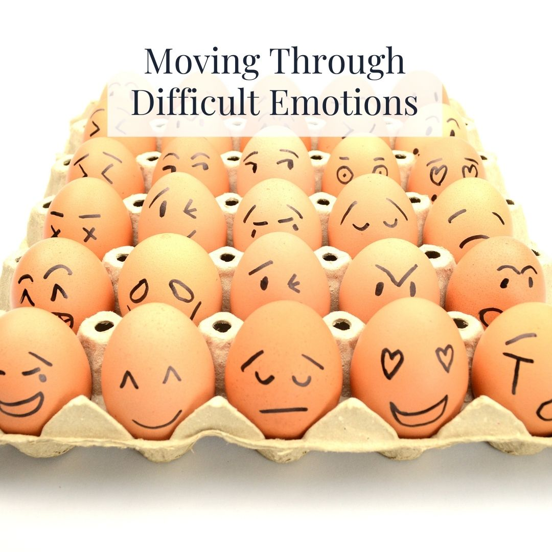 Blog Moving through difficult emotions
