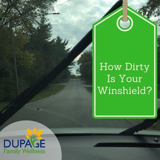 How Dirty Is Your Winshield?
