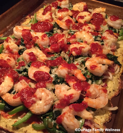 Shrimp Pizza400