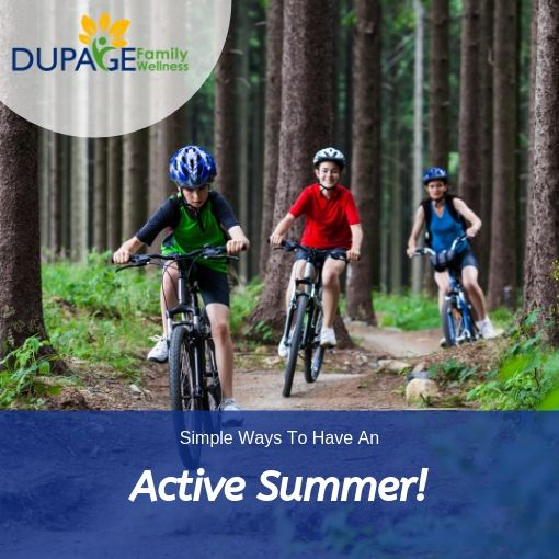 Simple ways to have an active summer