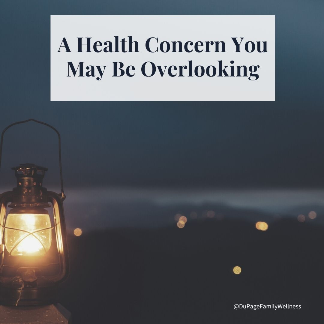 blog a health concern you may be overlooking sleep