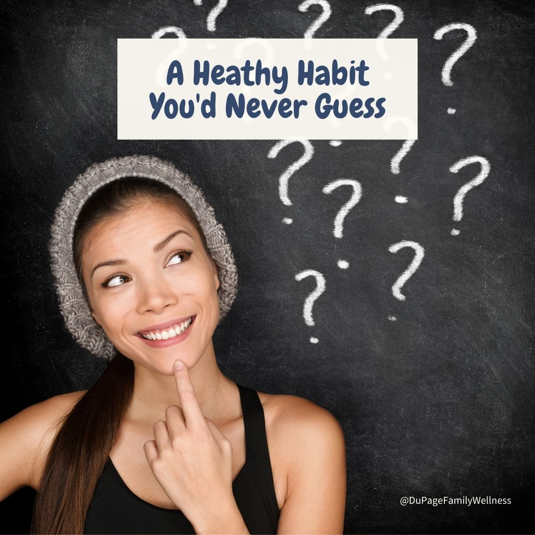 blog a healthy habit youd never guess