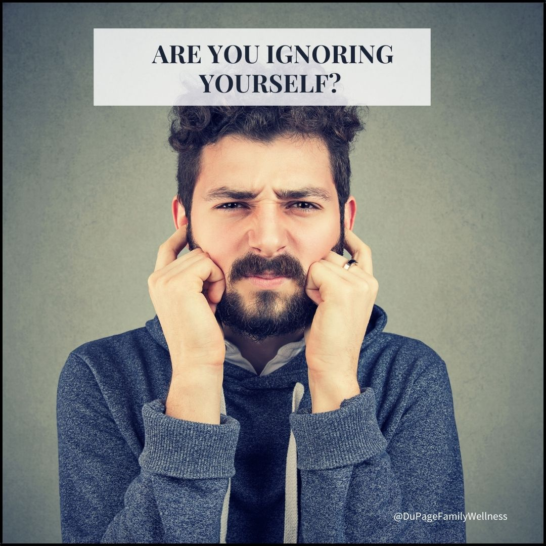 blog are you ignoring yourself