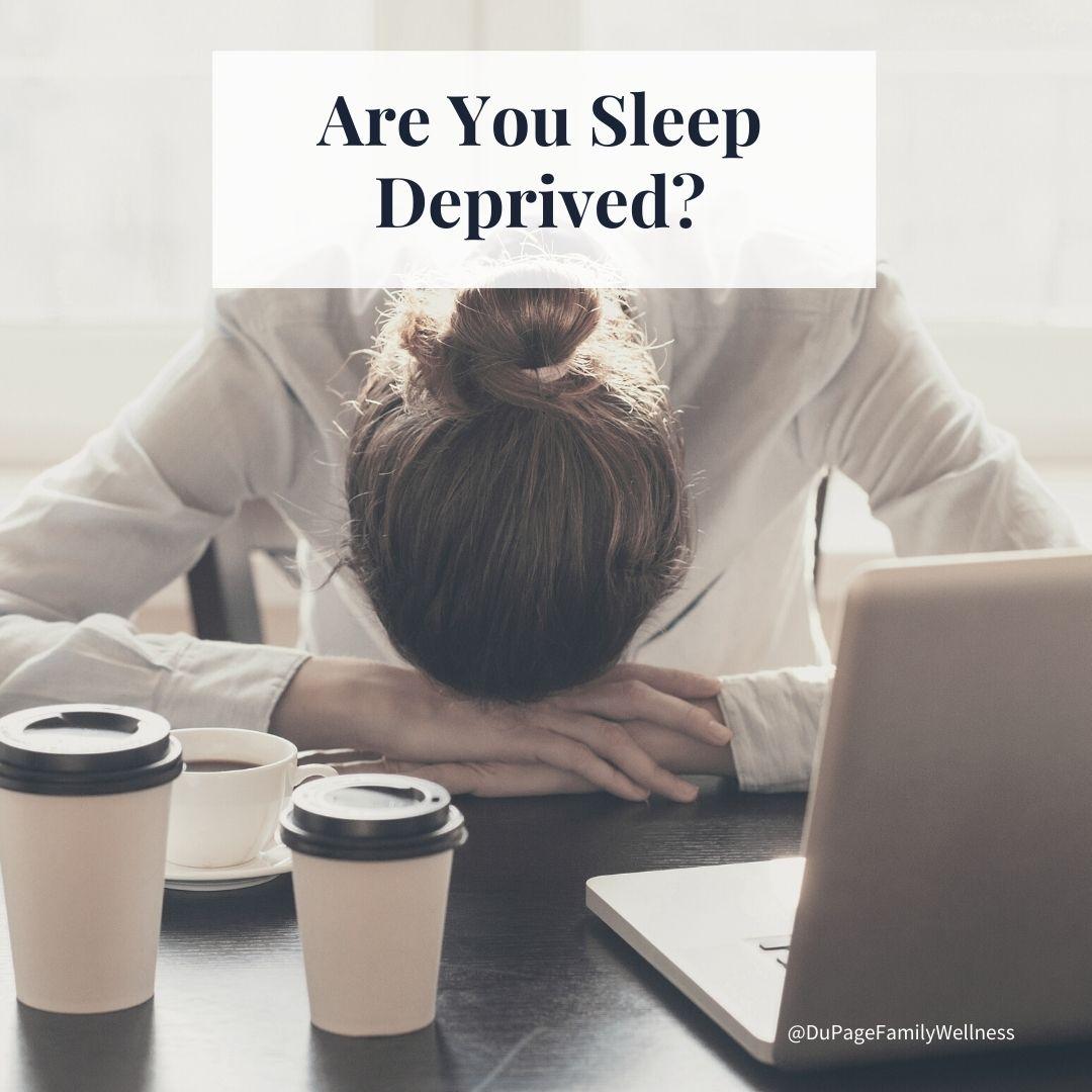 blog are you sleep deprived
