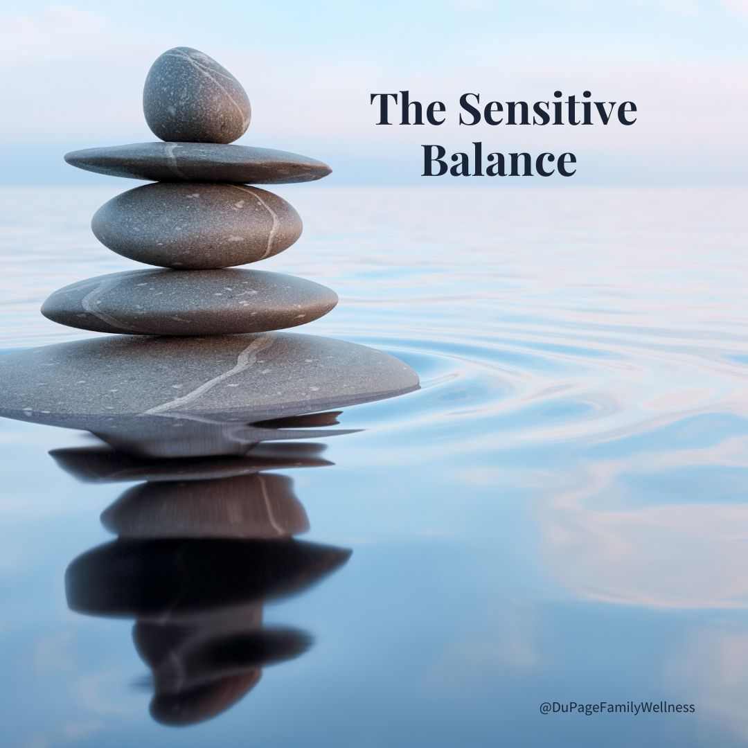 blog the sensitive balance