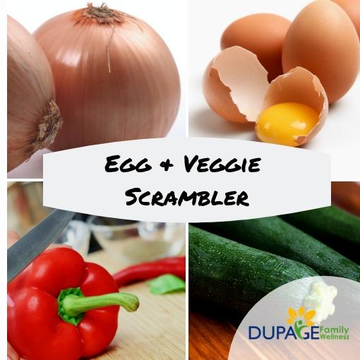 egg veggie scrambler