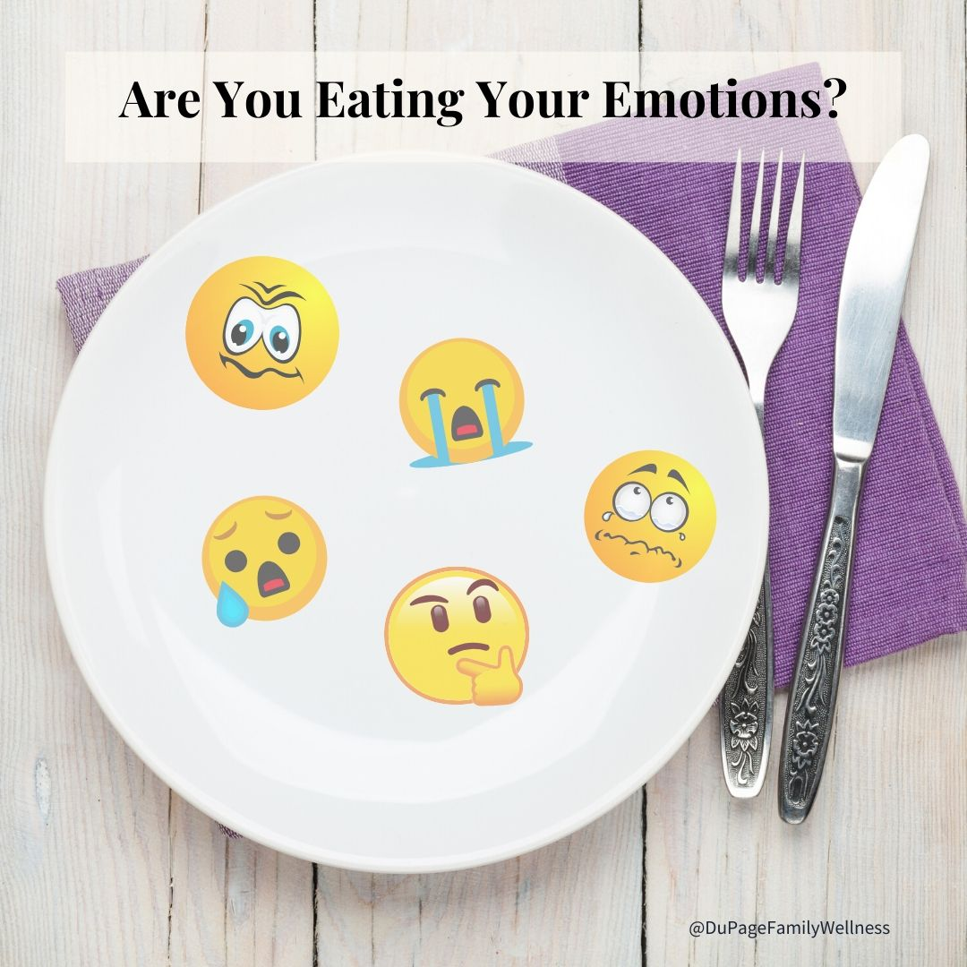 emotional eating emoji plate
