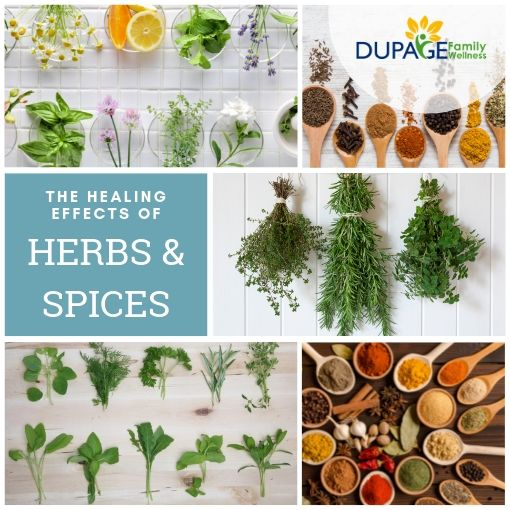 healing effects of herbs and spices