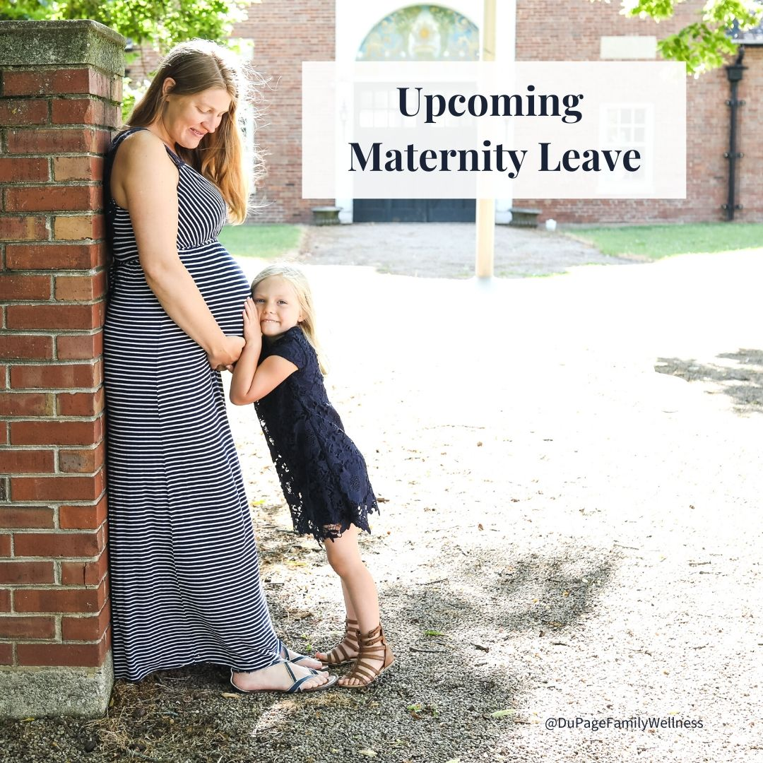 maternity leave announce