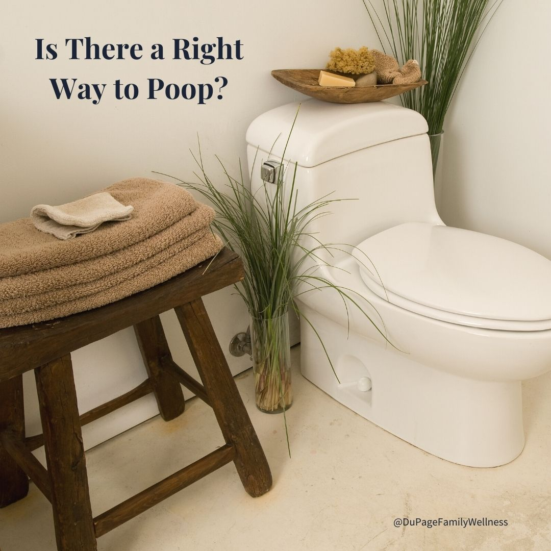 right way to poop