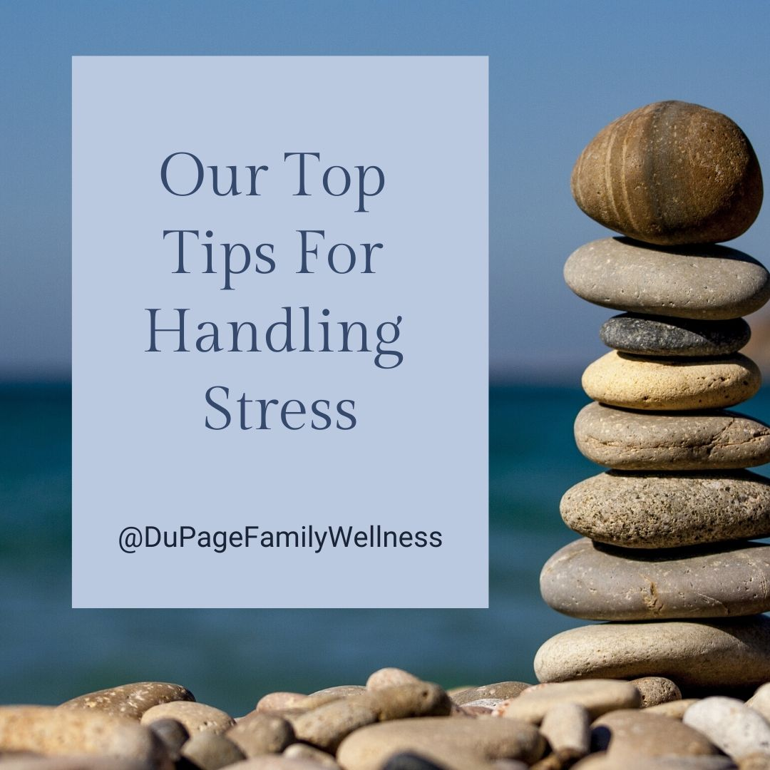 top tips stress